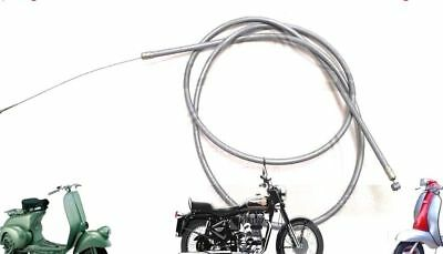 Lambretta  Li Gp Sx Tv Throttle Cable Inner And Outer Grey @au
