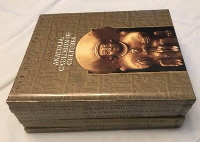 Time Life Books Lost Civilizations 7 Editions Holy Land Pompeii Incas Aztecs