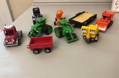 BOB THE BUILDER Toys Vehicles Lot Scoop and Roley Other