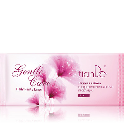 TianDe Daily Pantyliner  Gentle Care Daily Panty Liner 10pc