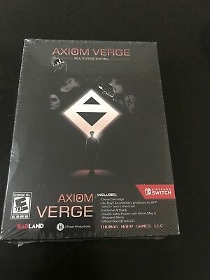 BRAND NEW ~ Axiom Verge : Multiverse Edition (Nintendo Switch, 2017) SEALED!