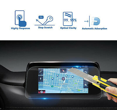 Anti Glare Clear GPS Navigation Touch Screen Protector For Mazda CX-5 2017 2018