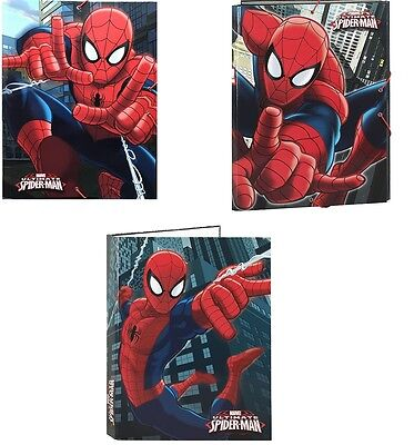 40 X Spiderman Document Files (Licensed Merchandise)