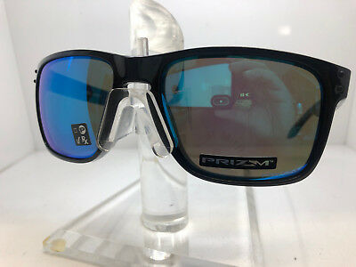 70bddb172a Authentic Oakely Sunglasses Holbrook Xl Oo9417-03 Polished Black Prizm  Sapphire