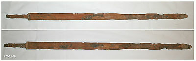 Ancient authentic Han Dynasty Dolmen excavated iron sword - rare