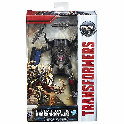 NEW! Hasbro Transformers; The Last Knight Premier Edition Decepticon Berserker