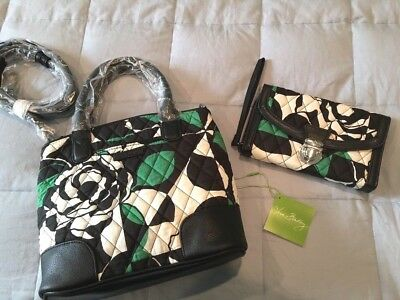 NWT Vera Bradley Day Off Crossbody Purse Ultimate Wristlet Lot Imperial Rose NEW