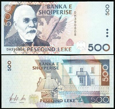500 LEKE Paper money Albania Current in Circulation