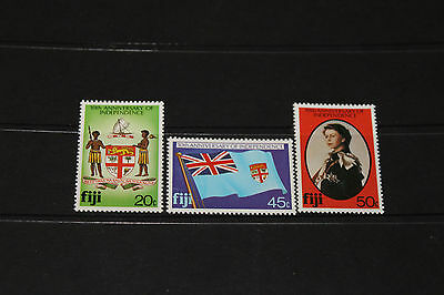 Fiji 1980 10Th Anniversary Of Independence Set 3 Fine M/n/h