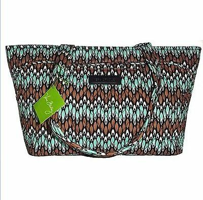 New Vera Bradley Mandy Sierra Stream Shoulder/Travel Bag (Lots of Pockets) NWT
