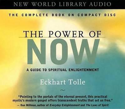 NEW The Power of Now By Eckhart Tolle Audio CD Free Shipping