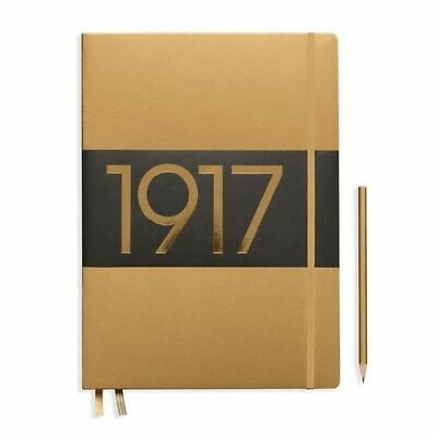 NEW Leuchtturm1917 Notebook A4 (Master) Slim Dotted - Limited Edition Gold