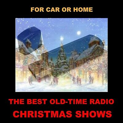 102 Old Time Radio Christmas Shows Selected From Your Favorite Otr Programs!