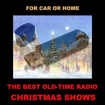 The Very Best 100 Old Time Radio Christmas Shows. Enjoy At Home Or In Your Car!