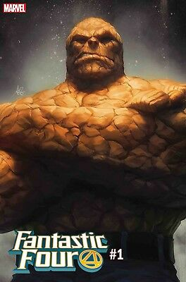 Fantastic Four #1 (2018) - The Thing Cover ArtGerm ~ PRE-ORDER