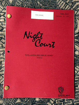 NIGHT COURT PRODUCER SCRIPT WITH A LITTLE HELP FROM MY FRIENDS John Larroquette