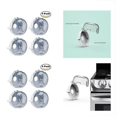 UPGRADED BUENAVO Universal Kitchen Stove Knob Covers Baby Safety Oven Gas Locks