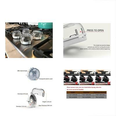 S&S Kitchen Stove Knob Covers, Baby Safety Oven Gas Lock For Child Toddler -Set