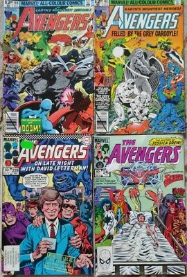 Marvel comics The Avengers No 188,191,239,240