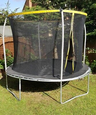Sports Power 10ft Trampoline With Enclosure Springs Cover In Vgc