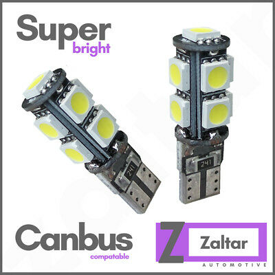 Bright Canbus Led Side Light 501 194 W5w T10 57 Smd Super White Bulbs 194 801 Uk