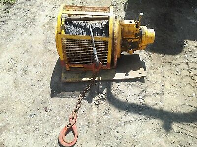 Air Powered Heavy Duty Winch Samiia