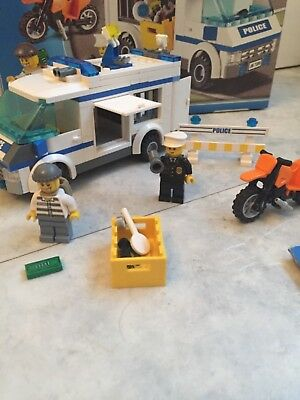 Lego City Prisoner Transport 7286 With Box 2500 Picclick Uk