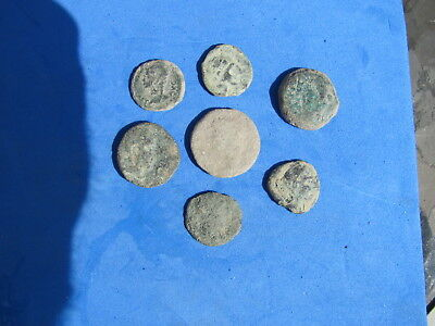 RARE Lot Premium (7) Ancient Iberian Coins of  Spain 2nd to 1st cent.bc