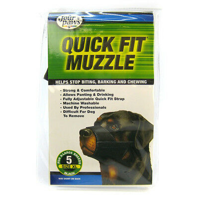 FOUR PAWS - Quick Fit Muzzle for Dogs - Size 5