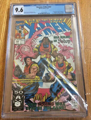 Uncanny X-Men # 282, 11/1991, CGC 9.6, White pages, 1st Appearance Bishop