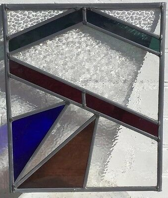 Stained Glass Window With Textured Glass