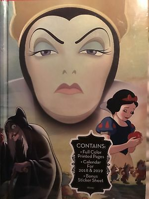 Disney Villains EVIL QUEEN Journal Calendar Planner 2018-19 Snow White Walgreens