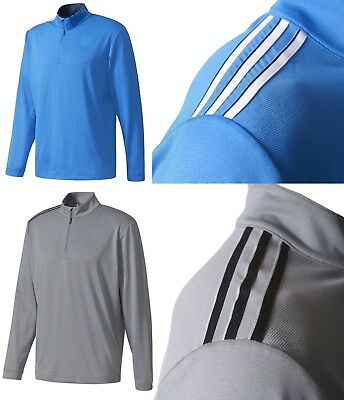 Adidas Golf 3 Stripes French Terry 1/4 Zip Pullover M L XL OR XXL - RRP£50