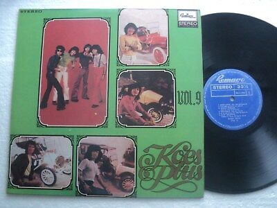 INDO  psych / rock  - KOES PLUS - Vol. 9 -  Rare Indonesia release LP