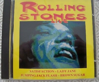 "Rolling Stones ""Live"" Cd Hyde Park 1969 And More Various Live 1964/1967 Tdm 24"