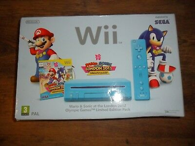 Blue Nintendo Wii Box Only