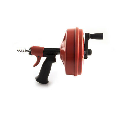 New Ridgid Power Spin Drain Cleaner with Autofeed, drain unblocker, DIY