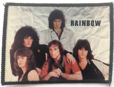 RAINBOW Old OG Vintage 1980`s Photo Patch Ritchie Blackmore Joe Lynn Turner