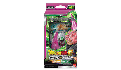 Dragon Ball Super Cards Union Force Special Pack Set NEW UNOPENED