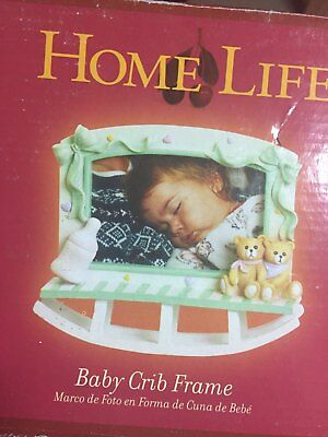 Picture Frame Baby CRIB HOLDS 4X6 PHOTO NIB