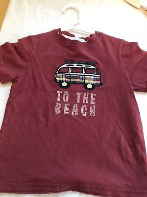 Janie & Jack Shirt To the Beach 3T play condition