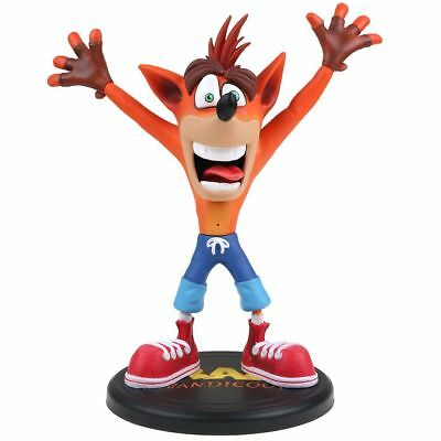 First 4 Figures Crash Bandicoot PVC Painted Statue 9 inches Figure Model Toy Top