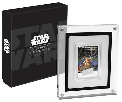 2017 Niue Star Wars - The Empire Strikes Back 1 oz Poster Silver Proof Coin
