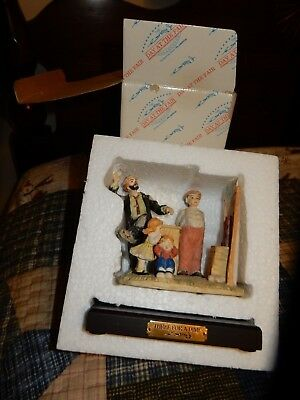 """Emmett Kelly Jr. """"A Day At The Fair""""  Figurine With Box Flambro"""