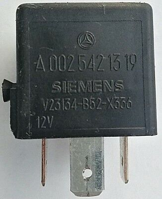 FORD JAGUAR VOLVO MERCEDES SMART VW 99-08 5-pin SIEMENS MICRO RELAY A1001-A303