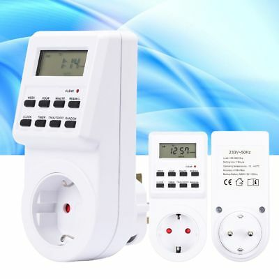 LCD Digital display DC 12V 16A 24 HOUR 7 DAY TIMER TIME RELAY SWITCH