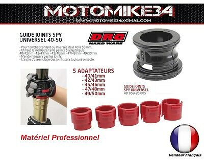 Guide joints spy universel moto route enduro cross 40< 50 mm