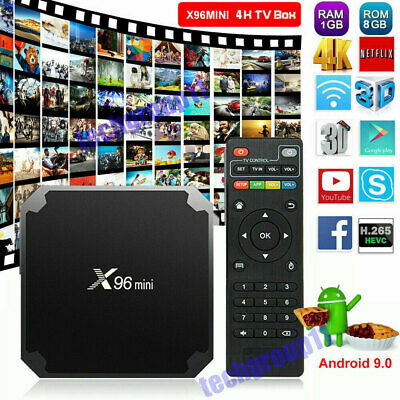 2019 NEW HK1MINI Android 9.0 Pie 2+16G Quad Core Smart TV BOX 4K Media Player FR