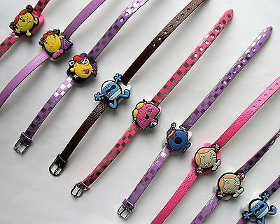 SHOE CHARM BRACELETS (M1) - inspired by CUTE MISS & MR CARTOON CHARACTERS