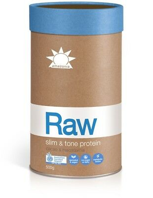 NEW Amazonia Raw Slim & Tone Protein (Cacao and Macadamia) REDUCED!